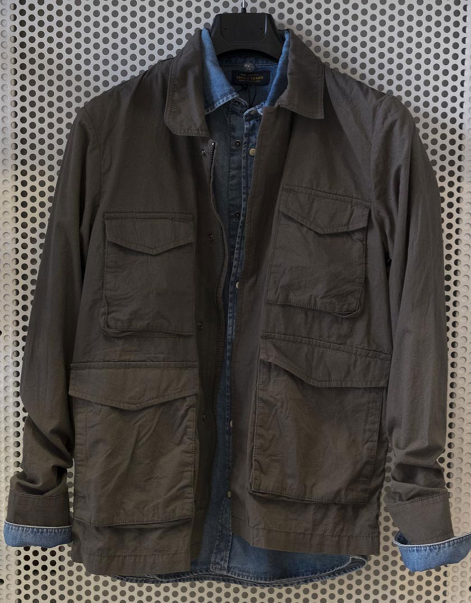 Field Jacket + Camicia denim Jack & jones
