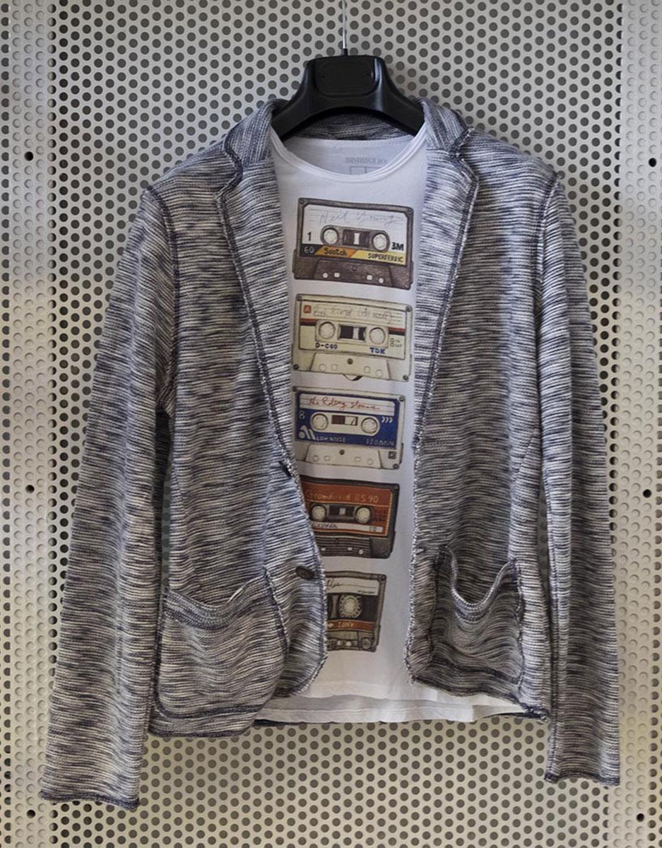 molto carino 5db8c 6b800 Giacca maglia Jack & Jones + T-shirt Bisbiglio cassette - La ...