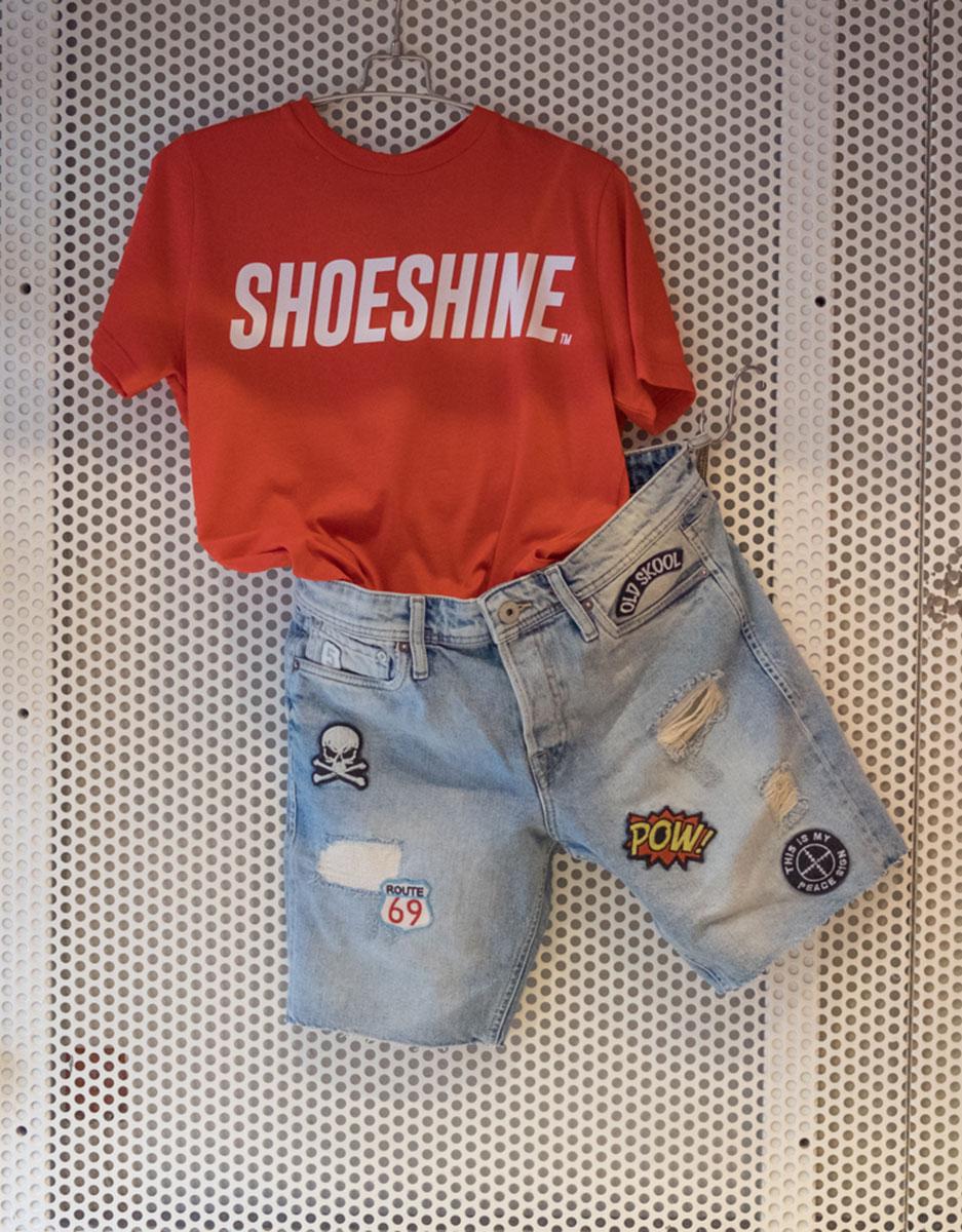 Bermuda Jack&jones + T-Shirt Shoeshine