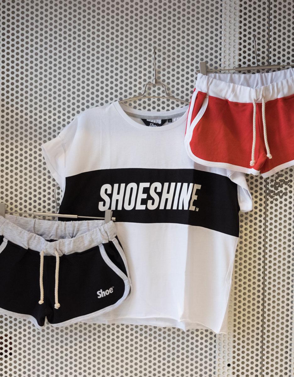 T-Shirt + Short Shoeshine