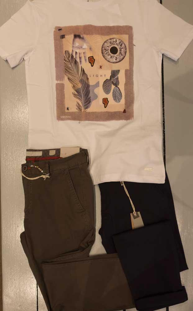 T-shirt Sseinse + pantalone Markup