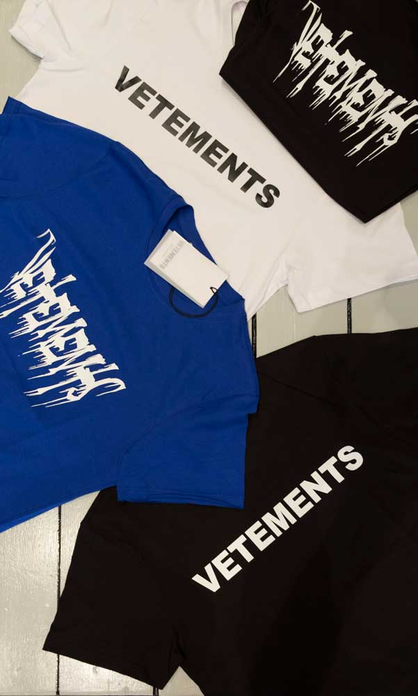 T-shirt Vetements