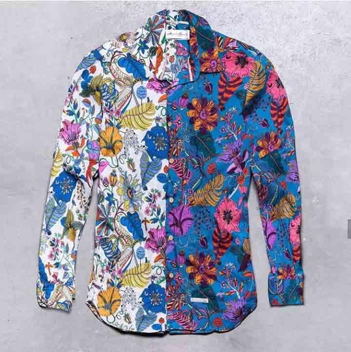 camicia floreal