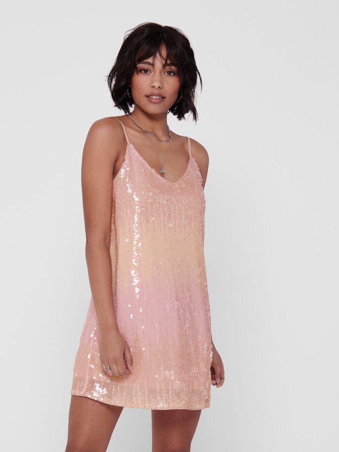 Joy s/l sequin dress
