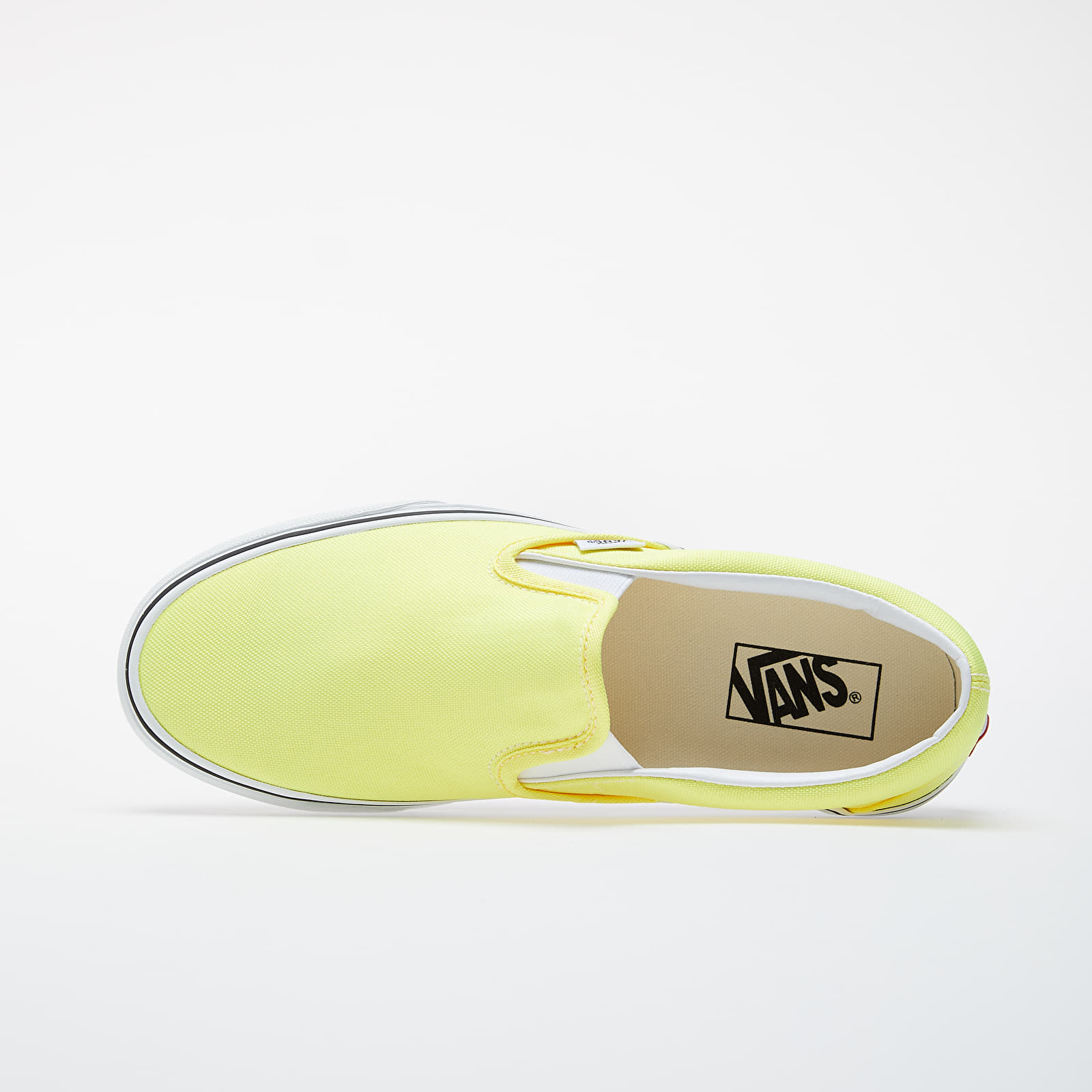 Vans slip on lemon tonic